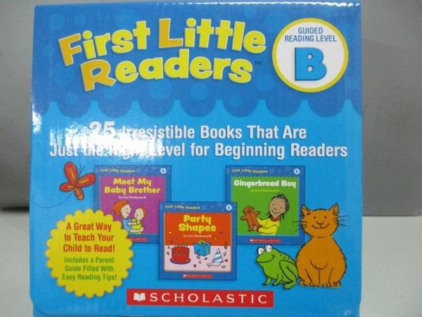 【書寶二手書T1/字典_ARG】First Little Readers Guided Reading Level B.. (with CD)