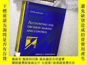 二手書博民逛書店ACCOUNTING罕見FOR DECISION MAKING
