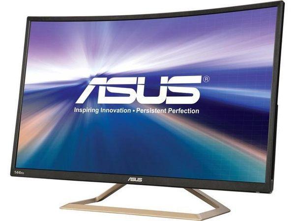 ASUS VA326H 32型 VA 曲面電競電腦螢幕(福利機)