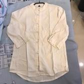 新款簡約潮流中國風長袖襯衫(M號/222-7552)