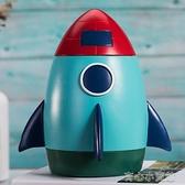 乳牙盒 新品乳牙紀念盒男孩創意火箭擺件寶寶牙齒收藏盒子換掉牙齒保存盒 育心館