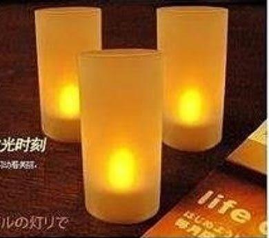 電子蠟燭燈(無燈罩)-黃光/個~~求婚用品 派對用品