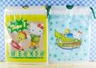 【震撼精品百貨】小黃鳥崔西_Tweety-KITTY聯名款-縮口袋-2入黃藍
