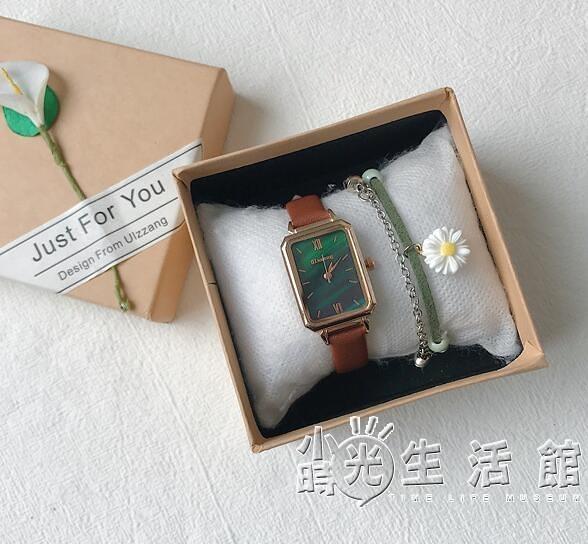 北歐法國輕奢小眾品牌女簡約氣質時尚學生小清新小巧鄭爽同款手錶 小時光生活館