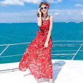 普吉島顯瘦長裙泰國波西米亞海邊度假巴厘島沙灘裙女夏2019新款