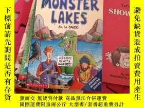 二手書博民逛書店horrible罕見geography-monster lake