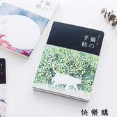 日式貓咪空白紙筆記本手帳本記事本子