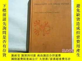 二手書博民逛書店PERSONALITY罕見AND SOCIAL SYSTEMS(