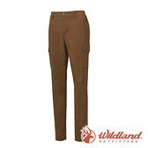 【wildland 荒野】女 日本紗彈性SUPPLEX長褲 0A61303『深卡其』戶外 登山 休閒 雙向彈性褲