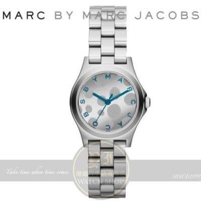 MARC BY MARC JACOBS國際精品LV藝術總監設計Henry Glossy Pop 時尚腕錶MBM3269公司貨