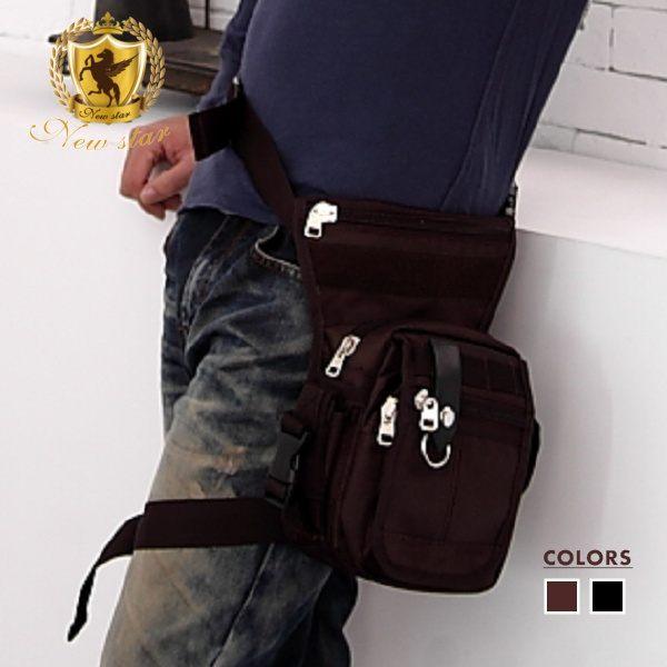 腰腿包 日系素面尼龍腰包包 斜背包 男 女 男包 現貨 NEW STAR BW06