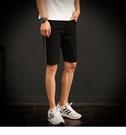 FINDSENSE H1 2018 夏季 新款 男 日本 個性 側邊條牛仔短褲