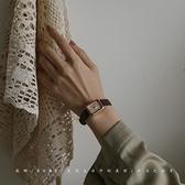 女士手錶 手表女表簡約氣質大氣羅馬表ins風小眾設計輕奢復古皮帶女士手表 夢藝家