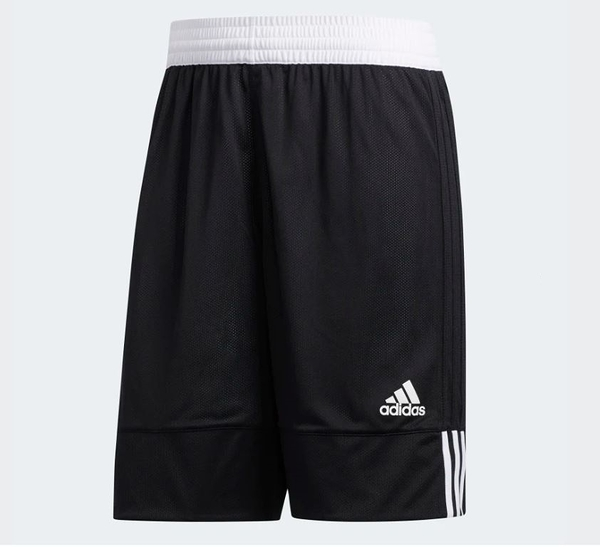 Adidas 3G SPEED REVERSIBLE SHORTS 男款運動短褲 黑白-NO.DX6386