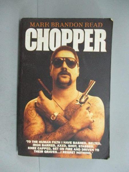 【書寶二手書T4/原文小說_HOA】Chopper_Read, Mark Brandon