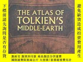 二手書博民逛書店The罕見Atlas of Tolkien's Middle-e