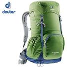 丹大戶外【Deuter】德國 Zugspitze 24L 網架直立式拔熱透氣休閒旅遊登山背包 3430116 綠/ 灰