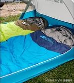 睡袋大人戶外露營冬季加厚保暖成人室內防寒單人便攜睡袋XY 全館新品85折