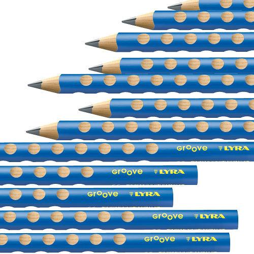 【德國 Lyra】Groove三角洞洞鉛筆-粗款 (12入) 幼兒適用
