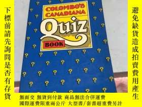 二手書博民逛書店COLOMBO'S罕見CANADIANA Quiz BOOKY2