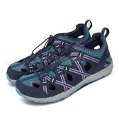 Merrell 戶外鞋 Hydro Choprock Shandal 藍 粉紅 大童鞋 女鞋 越野 登山 休閒鞋 【PUMP306】 MK162548