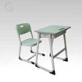 桌椅小學生學校課桌兒童學習桌學生寫字桌單人補習班課桌WY