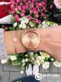 手錶 女士手錶時尚潮流防水韓版學生氣質淑女大氣別樣石英女錶632-176