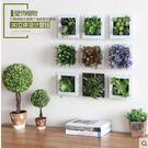 美式仿真植物 客廳墻面壁掛飾 BS16428『樂愛居家館』