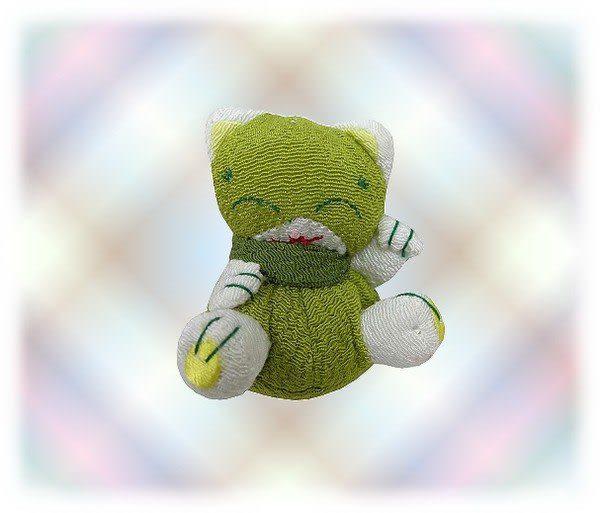 【波克貓哈日網】★開運招財貓★開運招財小吊飾《芥茉綠色》選個隨身吊飾改變你的運勢!