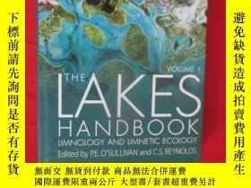 二手書博民逛書店The罕見Lakes Handbook (Volume 1): Limnology and Limnetic Ec