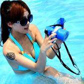 相機防水袋 賓果索尼A6000/NEX5NEX3微單相機防水套潛水袋防水包漂流水下拍照 歐萊爾藝術館