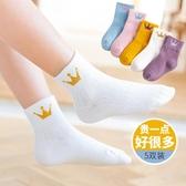 女童襪子中筒襪純棉春秋薄款棉襪中大童寶寶花邊公主襪秋冬兒童襪
