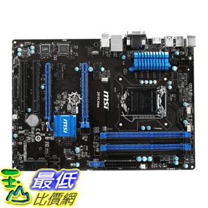 [美國直購] MSI 主機板 Intel Z97 LGA 1150 DDR3 USB 3.1 ATX Motherboard (Z97 PC Mate)