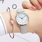 手錶 考試專用手表男女高中學生潮流韓版簡約森系石英女表【快速出貨八折下殺】