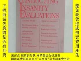 二手書博民逛書店CONDUCTING罕見INSANITY EVALUATIONSY26917