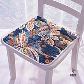 坐墊餐椅墊四季通用薄款椅墊防滑凳墊【愛物及屋】