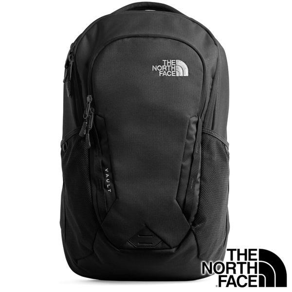 【THE NORTH FACE 美國】VAULT 雙肩電腦 背包 26.5L『黑』NF0A3KV9 休閒.露營.後背包.雙肩包.旅遊
