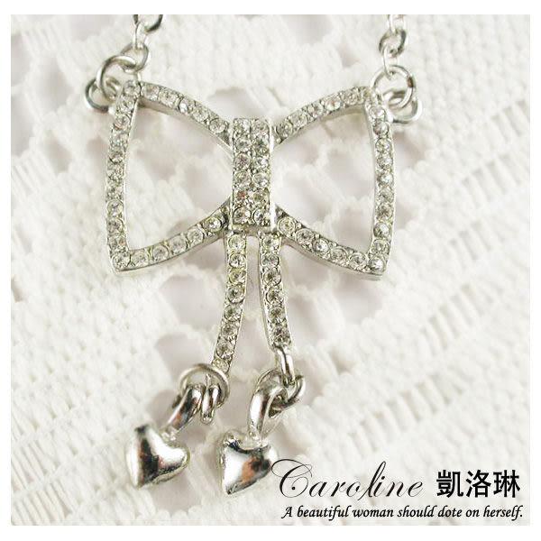 《Caroline》★韓國進口奧地利施華洛世奇水晶時尚項鍊19890