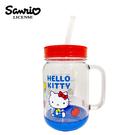 【正版授權】凱蒂貓 萬用沙拉罐馬克杯 500ml 日本製 吸管杯 馬克杯 Hello Kitty 三麗鷗 SKATER 316883