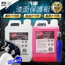普特車旅精品【CN0026】SZ 汽車鐵粉去除劑2L+柏油去除劑2L+漆面氟素水鍍膜80ml 贈噴罐 車體鍍膜