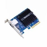 Synology 群暉 E10G18-T1 NAS 伺服器高速10GbE RJ45 (單埠) 擴充卡