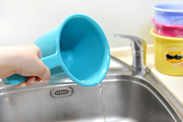 【吉米花紋水瓢2入】水杓 澆水杓 盥洗用品 衛浴用品 水勺 水盆 媽咪寶貝 嬰兒用品 K836 [百貨通]
