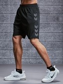 運動褲 運動短褲男跑步健身速干潮休閒五分女寬鬆訓練中褲大碼沙灘籃球褲 宜品