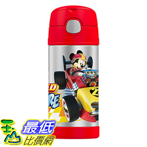 [美國直購] Thermos 兒童保溫水壺 米奇 米老鼠 12 Ounce Funtainer Bottle, Mickey Mouse