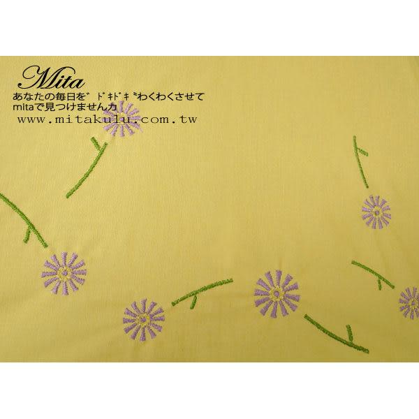 *Mita*MU-0119MA   抗UV 剌繡花朵晴雨折傘 (外銷日本商品)