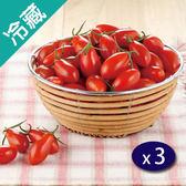 【台灣】爆甜聖女小蕃茄(600g±5%/盒)X3【愛買冷藏】