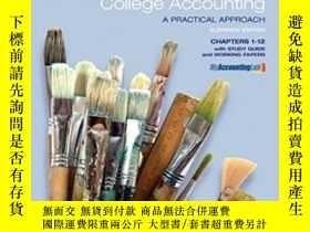 二手書博民逛書店College罕見Accounting Chapters 1-1