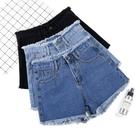 牛仔短褲牛仔短褲女夏外穿韓版寬鬆闊腿百搭...