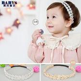 髮帶 華麗花朵造型髮帶  二色  寶貝童衣