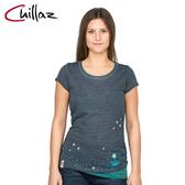 Chillaz 女棉質圓領上衣102255-1 Fancy Little Dot / 城市綠洲 (攀岩、登山、休閒、旅遊)